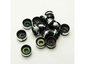 RHL0004G hlinikove rondelky cerne