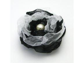 BVG0004 gumicka do vlasu cernobila