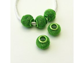 PRD0003 drateny koralek zeleny