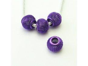 PRD0004 drateny koralek fialovy