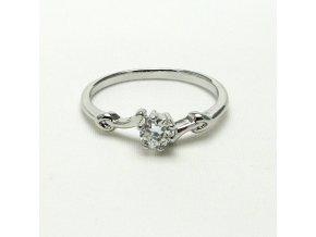 BPK0109A stribrny prsten s cirym kaminkem