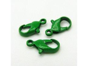 KBK0004A zapinani barevna karabinka zelena