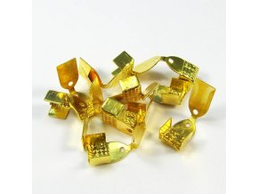 KZK0001C koncovka na kuzi zlata