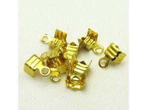 KZK0004D koncovka na kuzi zlata