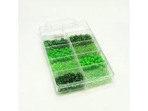 SKK0021 sada koralku zelena