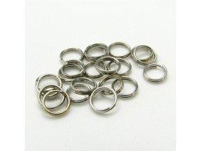 KSK0005A spojovaci krouzek dvojity 6mm platina