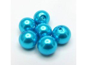 RSK0017F koralky voskovane perly modre