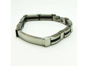 BRV0137 pansky kovovy naramek