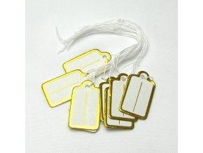 OSV0003 visacka papirova cenovka zlata
