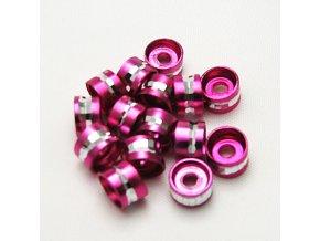 RHL0004B hlinikove rondelky ruzove