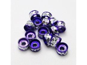 RHL0004E hlinikove rondelky fialove