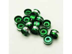 RHL0004H hlinikove rondelky zelene