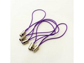 NPM0007 poutko snurka na mobil fialova