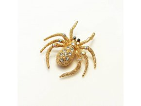 BBK0030 broz pavoucek s kaminky