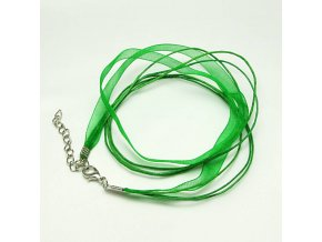 NOS0001A organza stuzka zelena