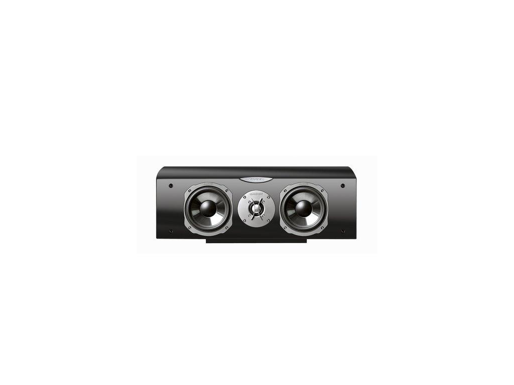 Kvalitní centrální 3- pásmová reprosoustava s impedancí 4 Ohmu, vysokou citlivostí a mohutným zvukem Quadral Ascent 10 BASE LE