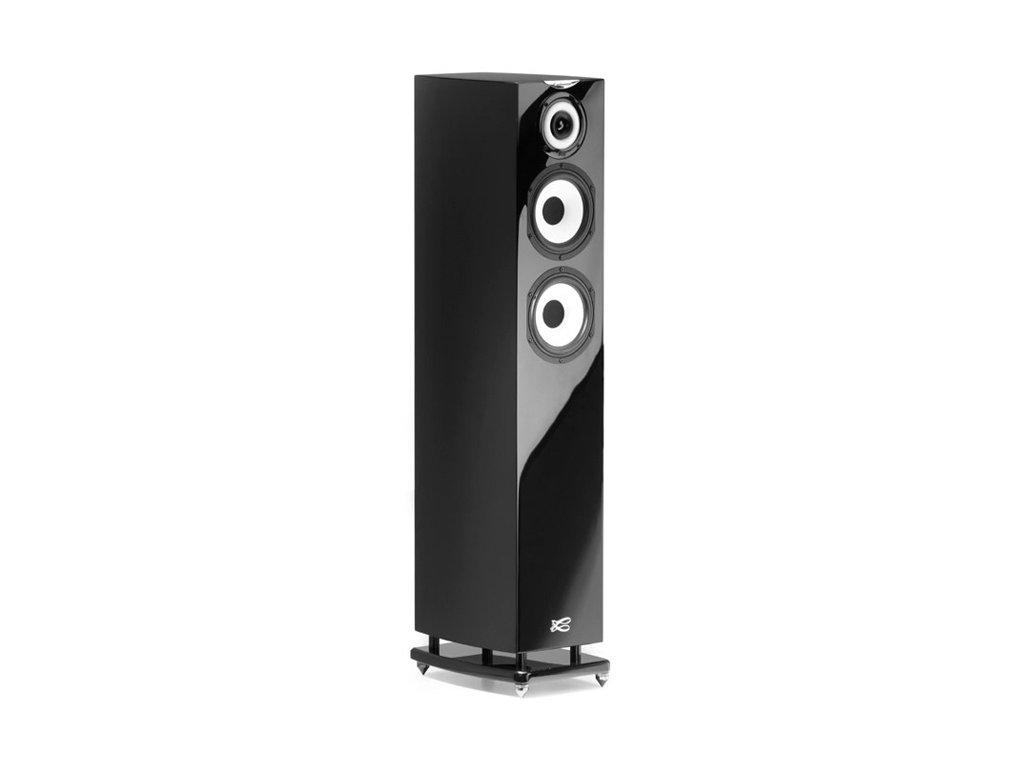 Kvalitní 3-pásmová sloupová reprosoutava s ozvučnicí bassreflex Cabasse MC 40 Java