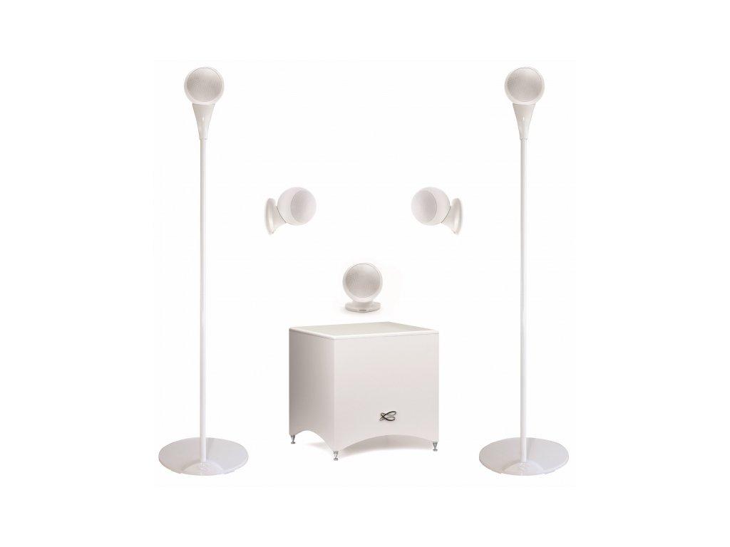 Kvalitní sestava pro ozvučení domácího kina 5.1 Cabasse Alcyone 2 5.1