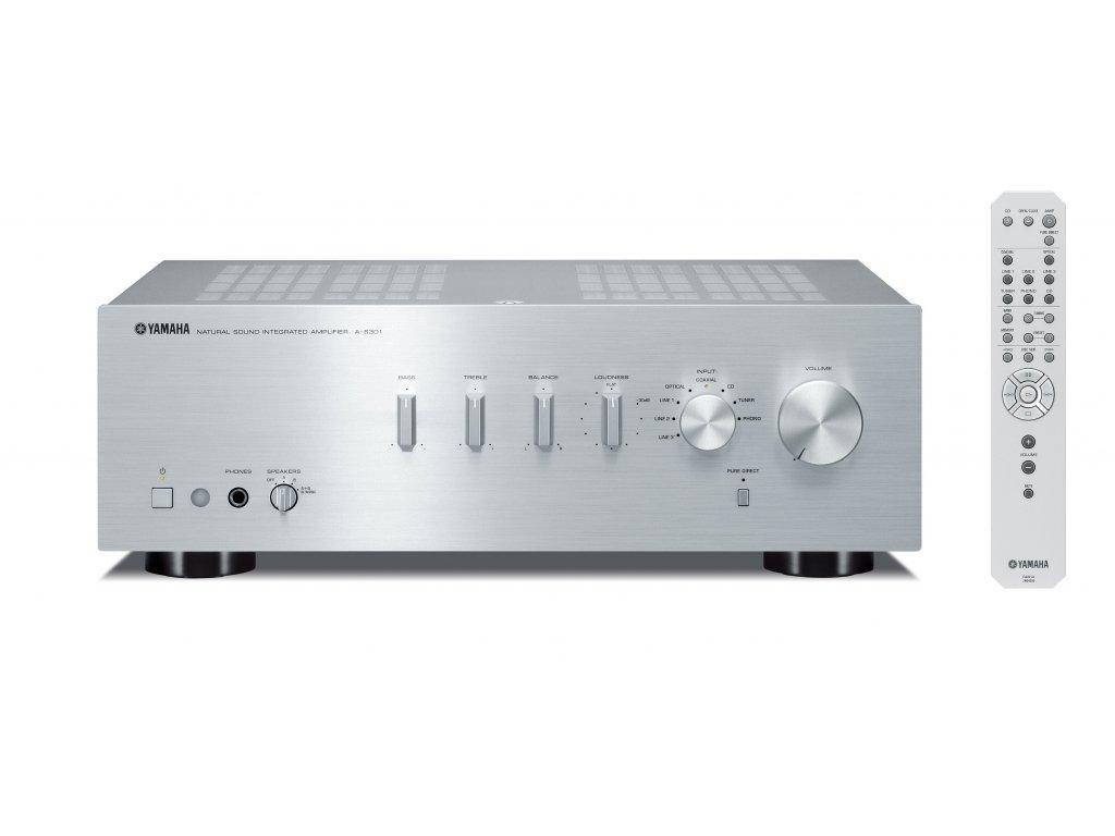 Kvalitní HIFI stereo zesilovač s maximálním výkonem 2x95W Yamaha A-S301