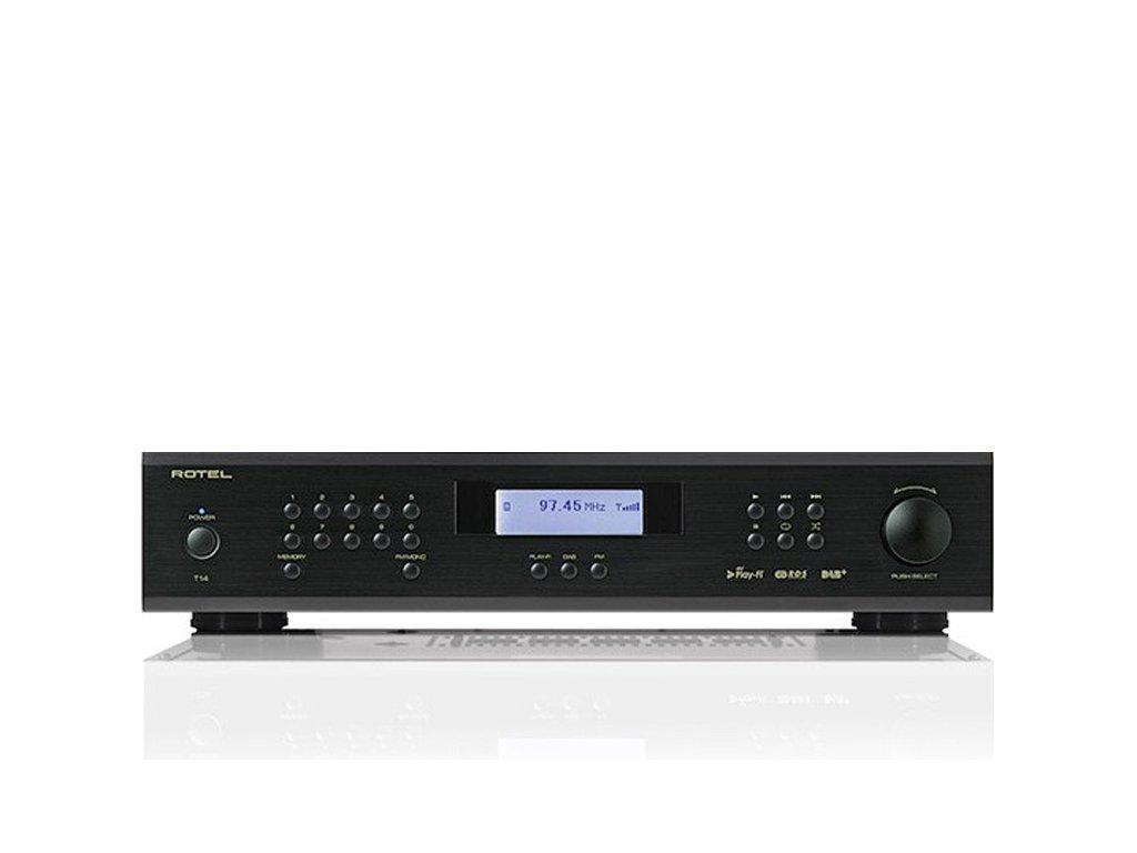 Kvalitní síťový přehrávač a FM / DAB / DAB+ tuner Rotel RT-1570