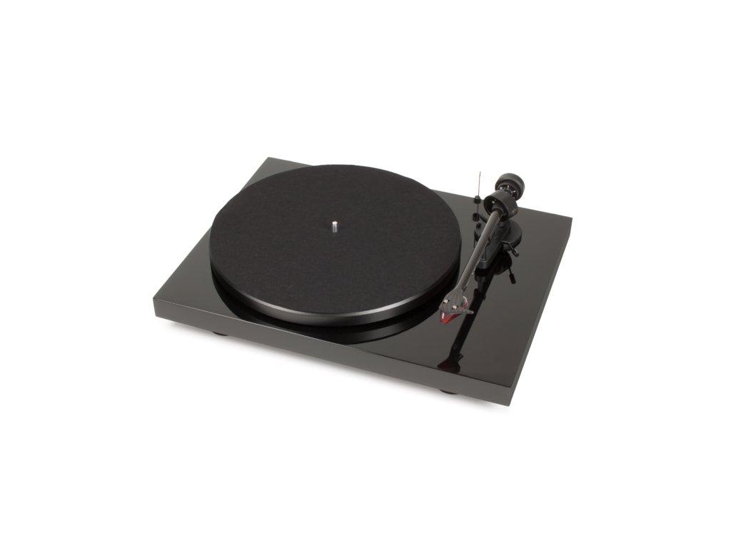 Kvalitní gramofon s tubusem z uhlíkového vlákna Pro-Ject Debut Carbon DC 2M-RED