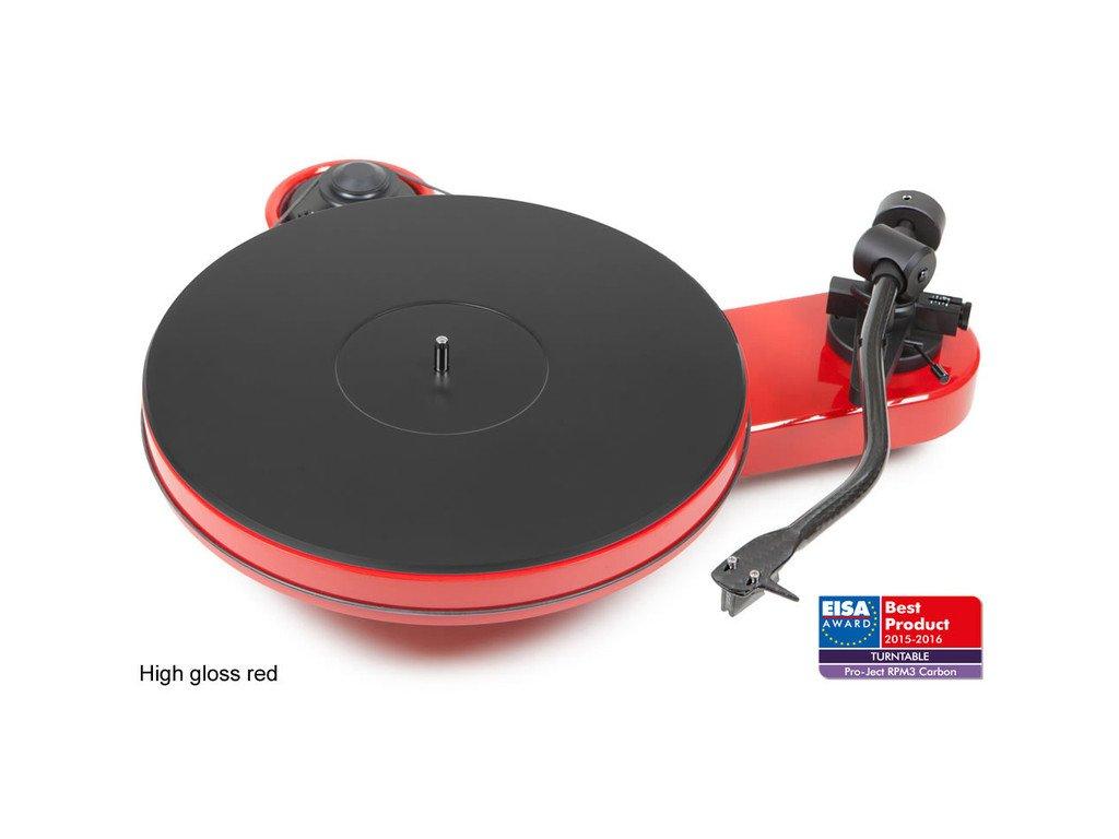 Kvalitní gramofon s MDF talířem Pro-ject RPM 3 Carbon + 2M Silver