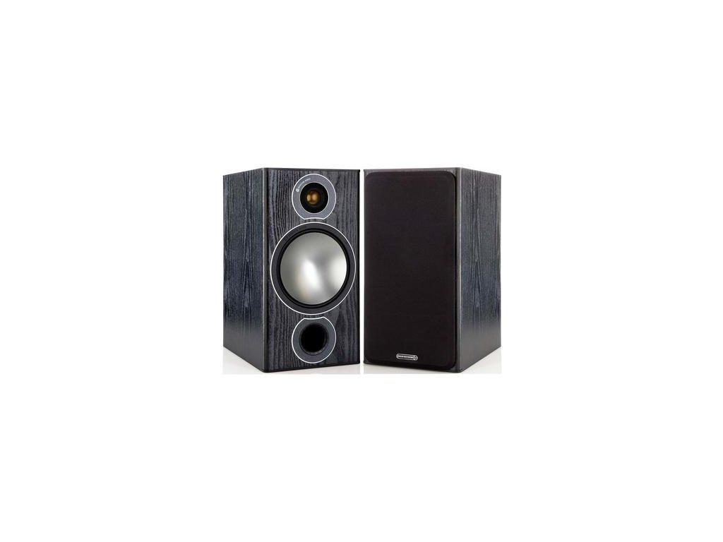 Kvalitní 2-pásmová regálová reprosoustava s bassreflexem Monitor Audio Bronze 2