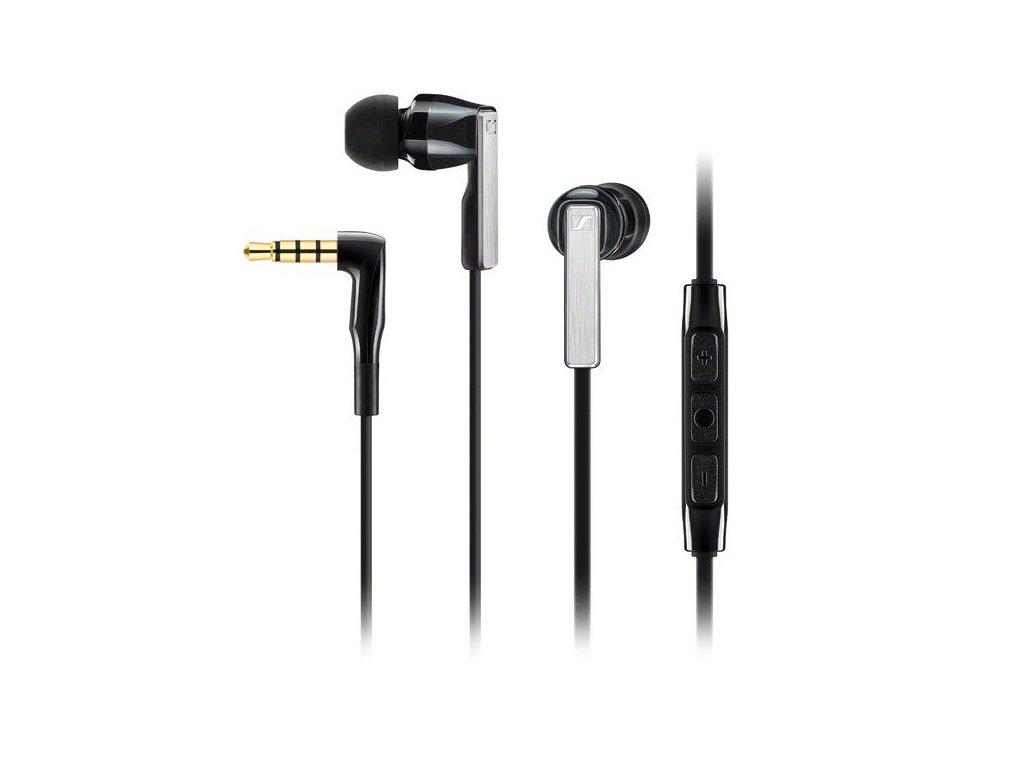 Kvalitní sluchátka do uší s ovládáním pro telefony podporující Android Sennheiser CX 5.00i