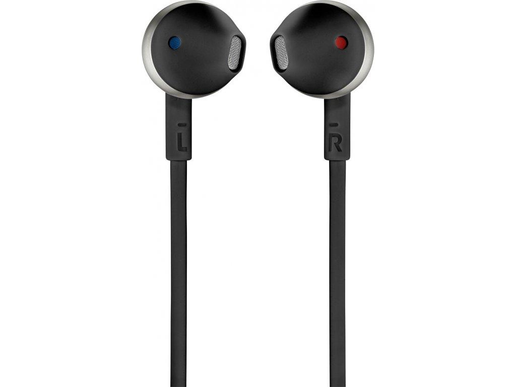 Kvalitní bezdrátová in-ear sluchátka s Pure Bass zvukem a dynamickým měničem JBL T205BT