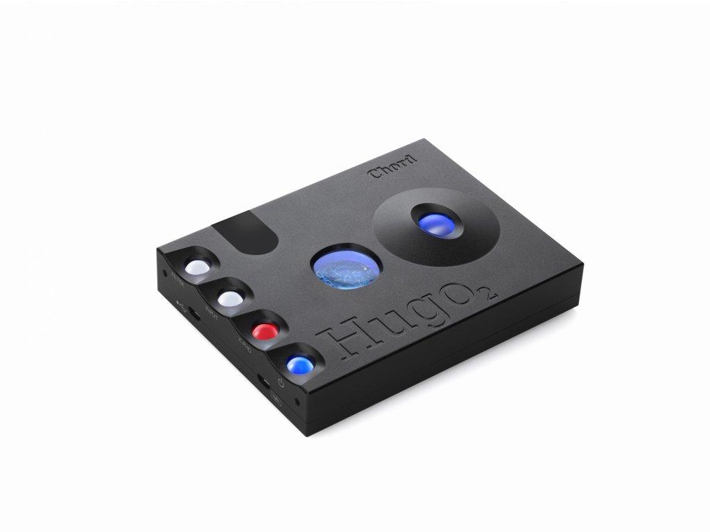 Kvalitní sluchátkový zesilovač a D/A převodník Chord Hugo 2