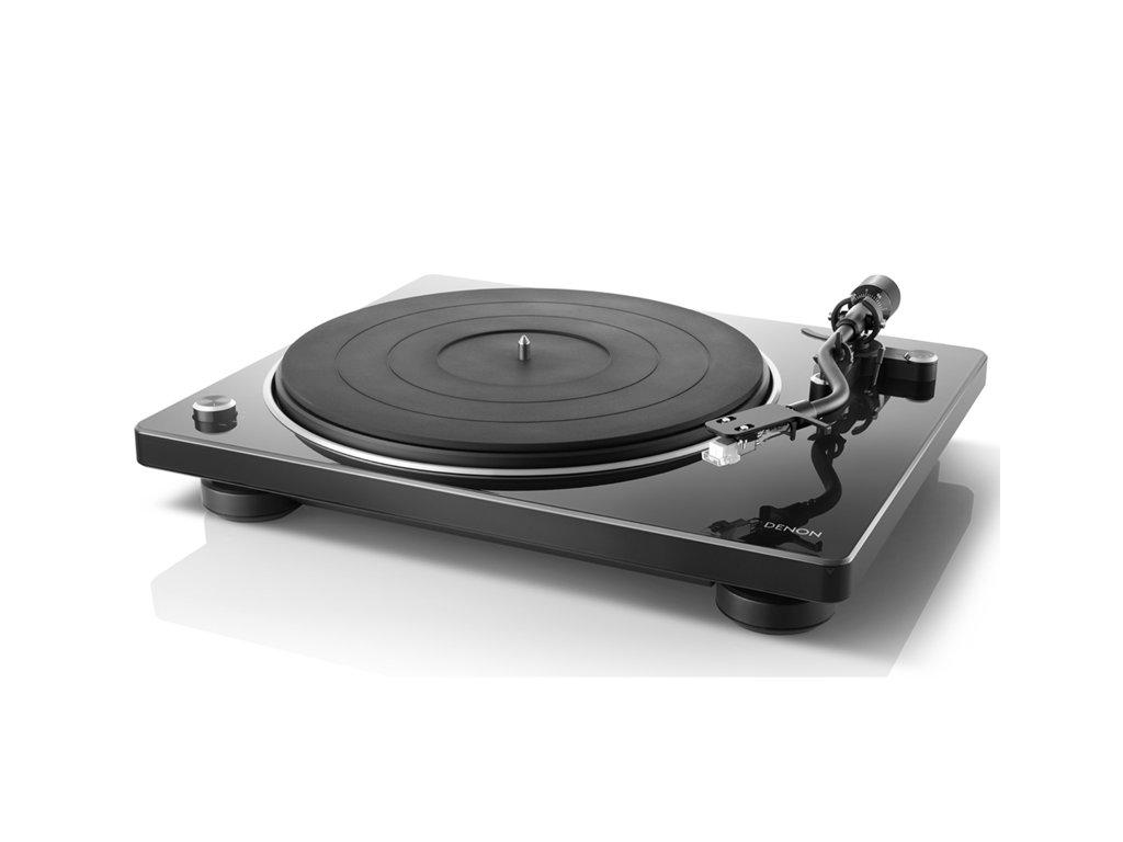 Kvalitní Hi-Fi gramofon s čidlem pro automatické nastavení rychlosti Denon DP-400