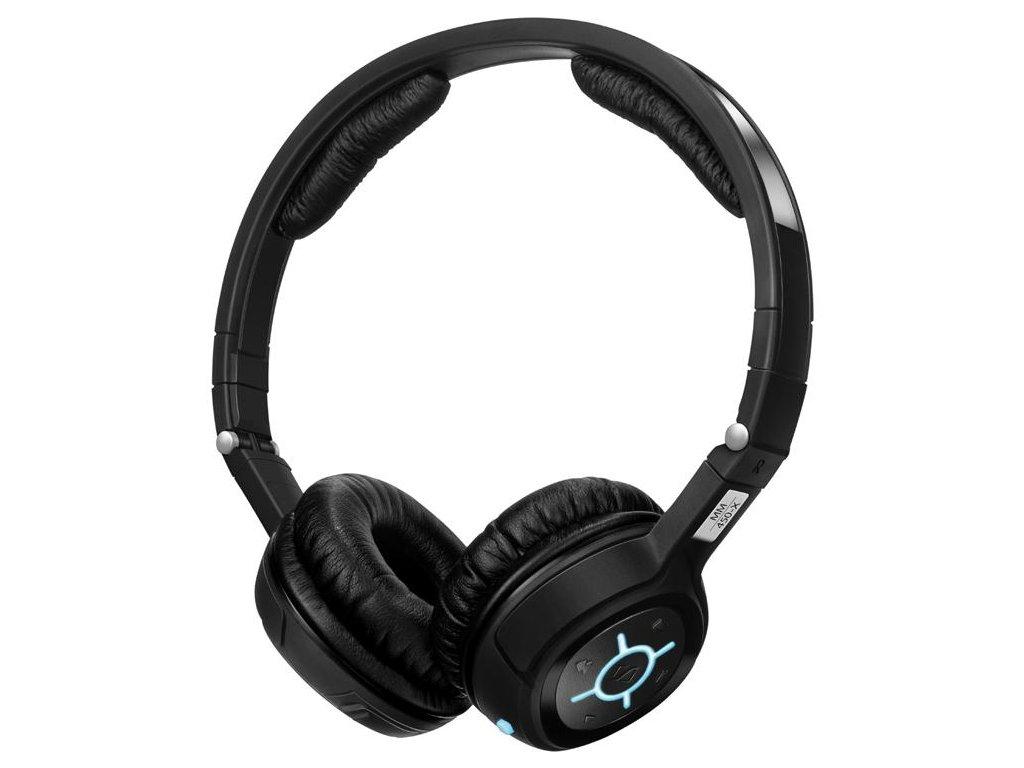 Kvalitní bezdrátová sluchátka s mikrofonem Sennheiser MM 450-X