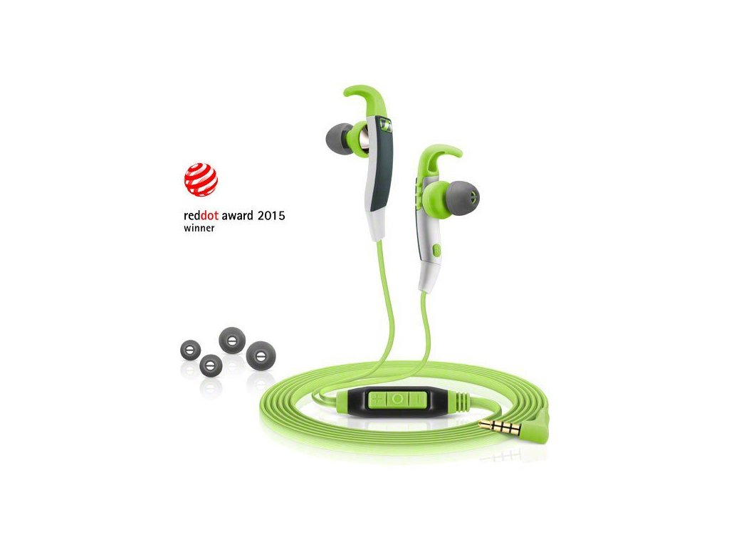 Kvalitní sluchátka odolná vodě i potu Sennheiser CX 686 Sports
