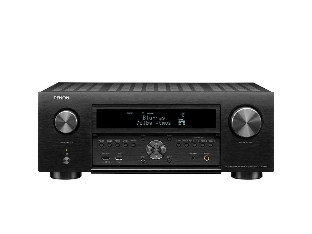 Kvalitní prémiový 11.2 kanálový AV zesilovač, umožňující 3D audio Dolby Atmos, DTS:X a Auro-3D, multiroom HEOS, streamování Apple AirPlay 2 a další DENON AVC-X6500H