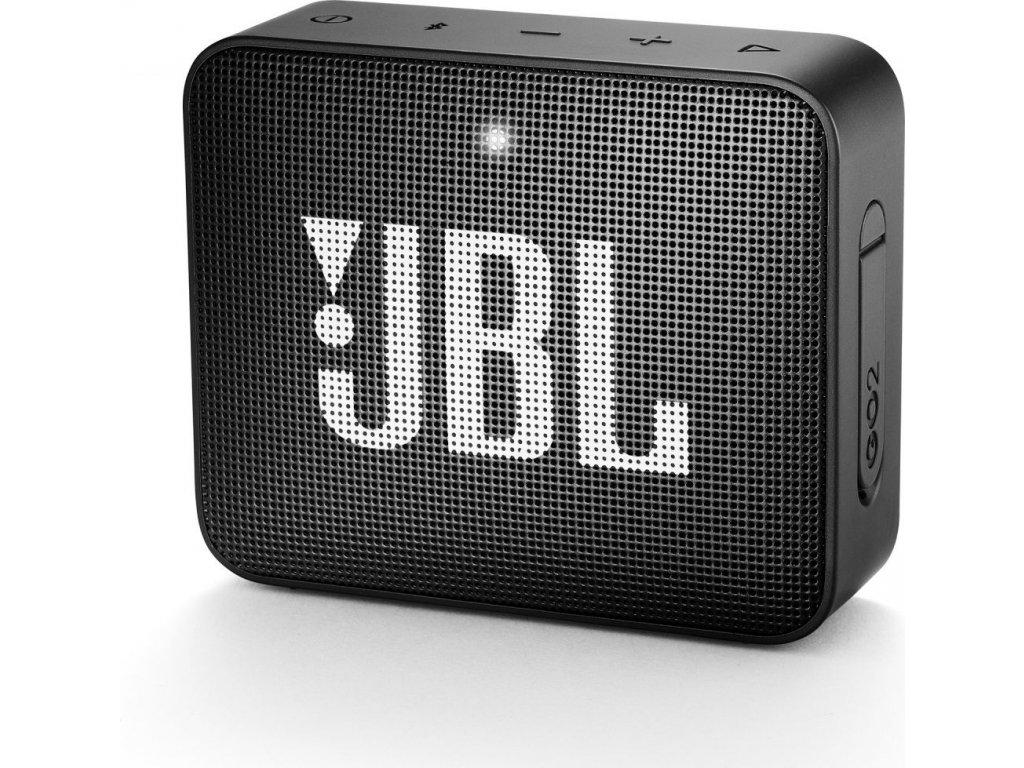 Kvalitní přenosný bluetooth reproduktor s měničem 40mm a výkonem zesilovače 3W JBL Go 2
