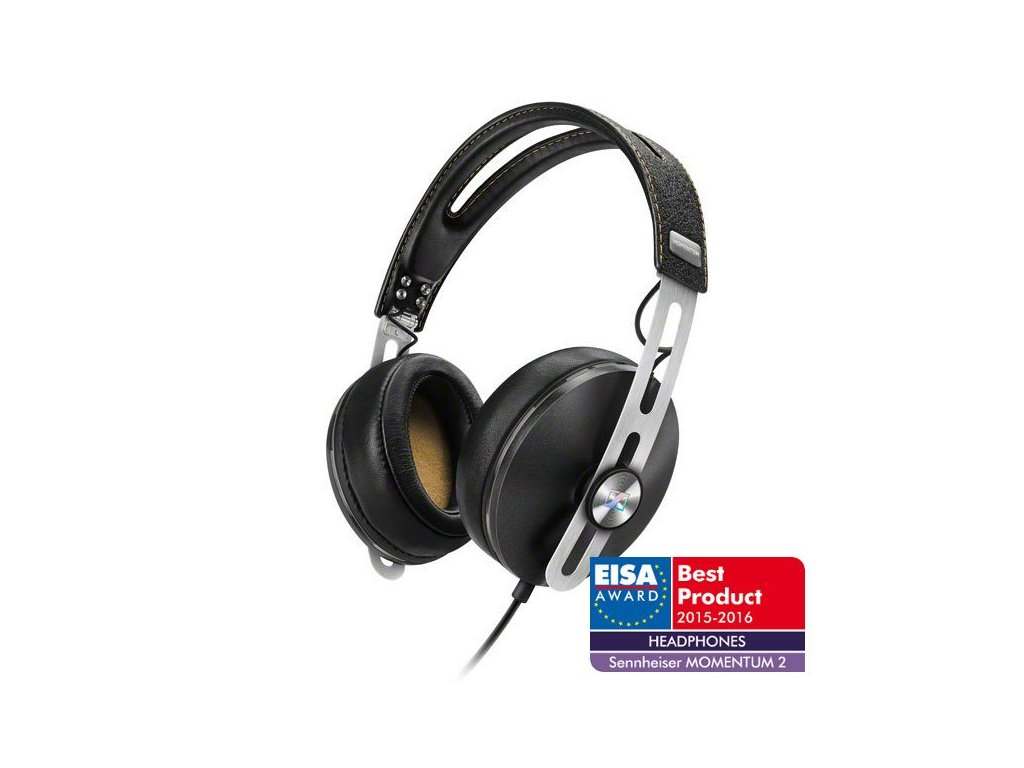 Kvalitní uzavřená supra-aurální dynamická stereo sluchátka Sennheiser Momentum M2 G
