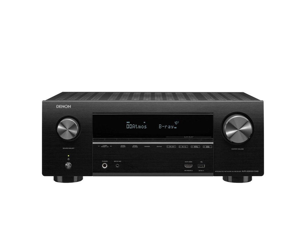 DENON AVR X2600 DAB 1