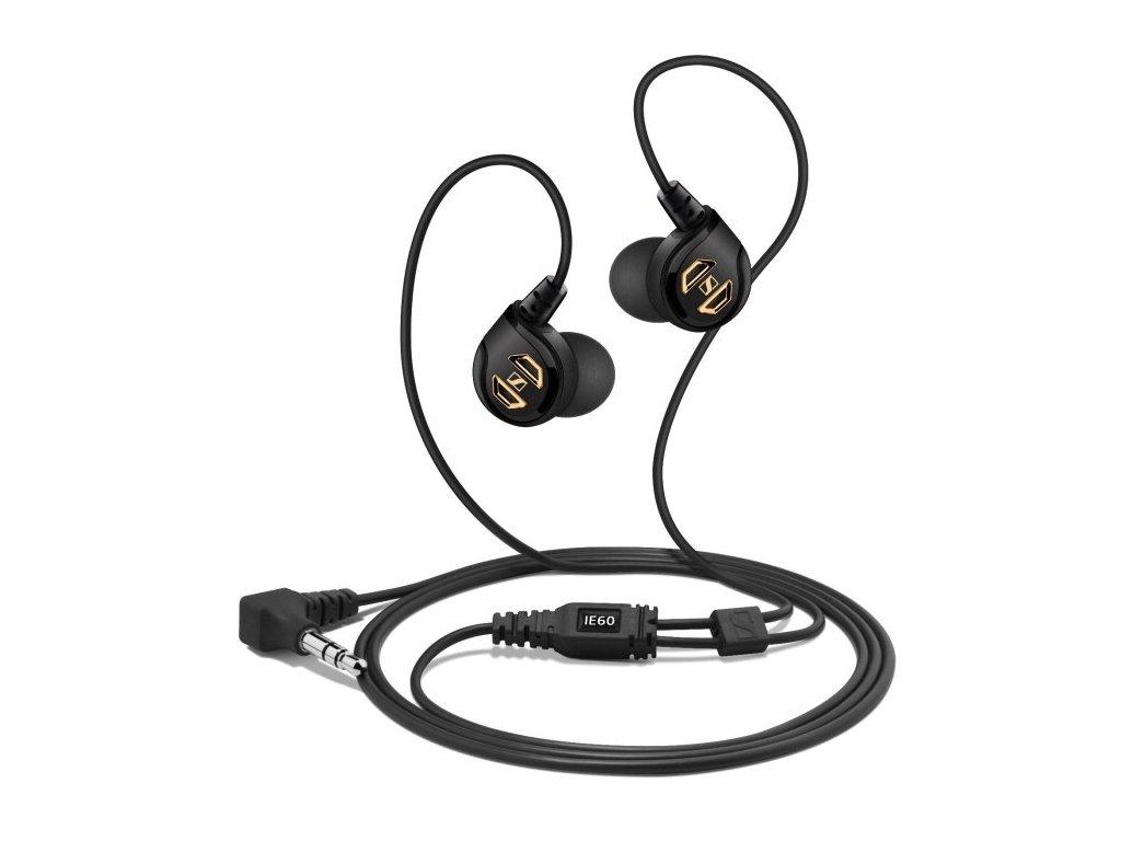 Kvalitní high-endové sluchátka do uší se zvýšenou mechanickou odolností Sennheiser IE 60