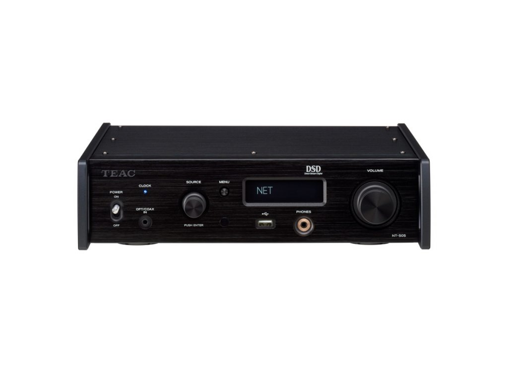 TEAC NT 505 BLACK FRONT