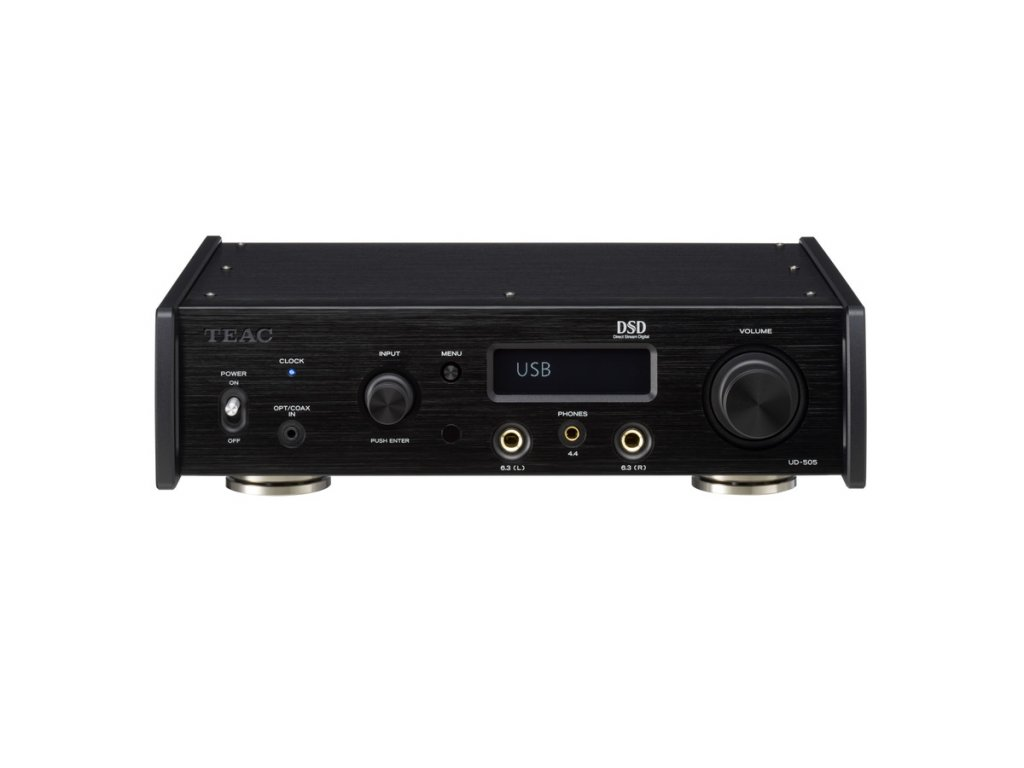 TEAC UD 505 BLACK FRONT