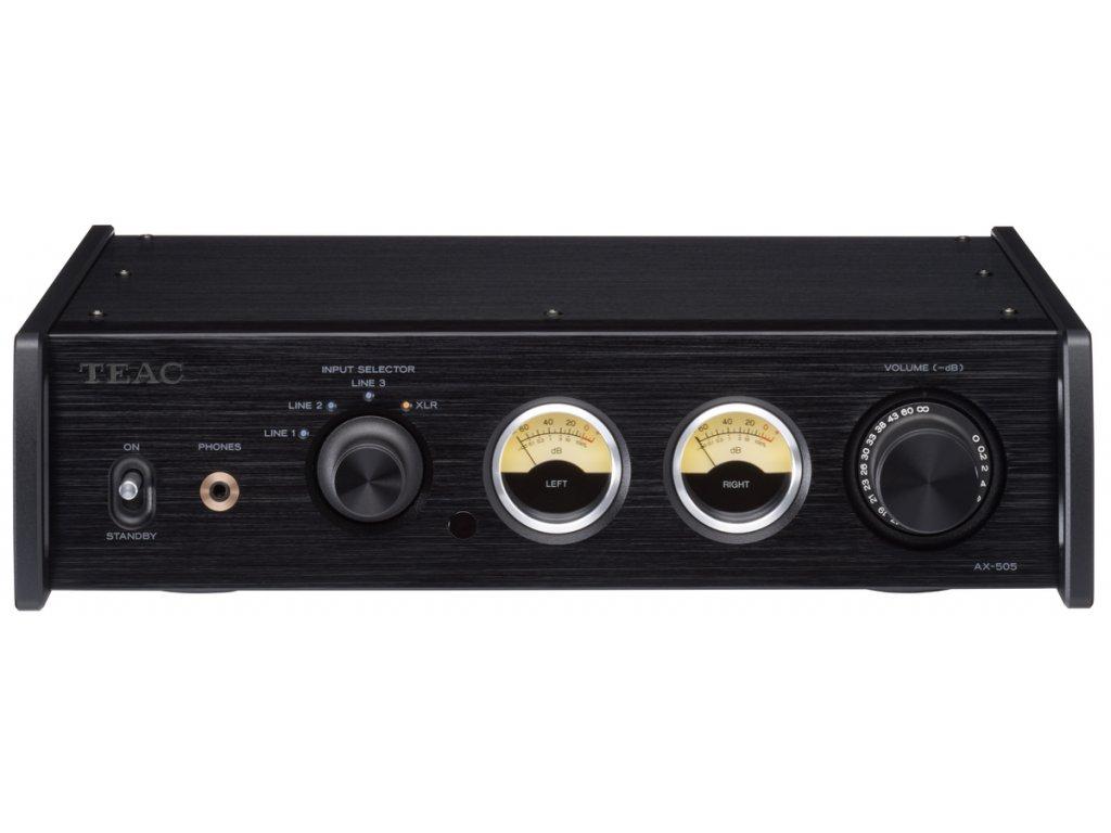 TEAC AX 505 BLACK FRONT