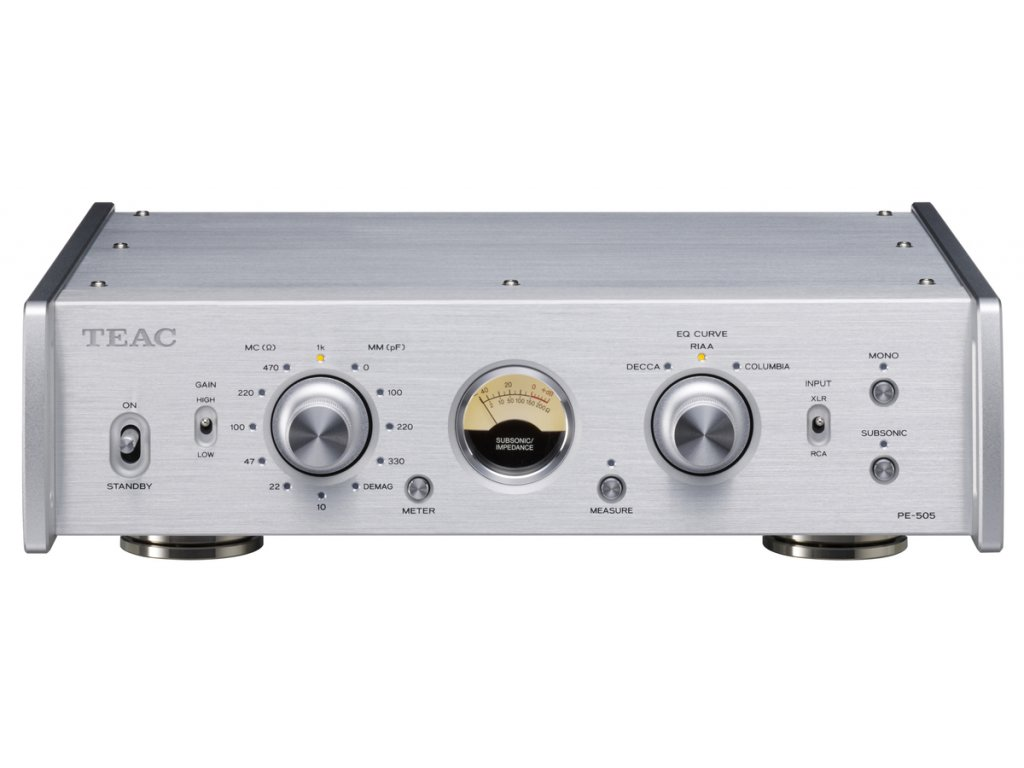 Teac PE 505 SILVER FRONT