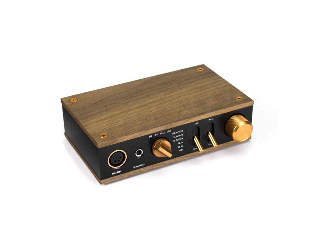 Heritage Headphone Amplifier Front