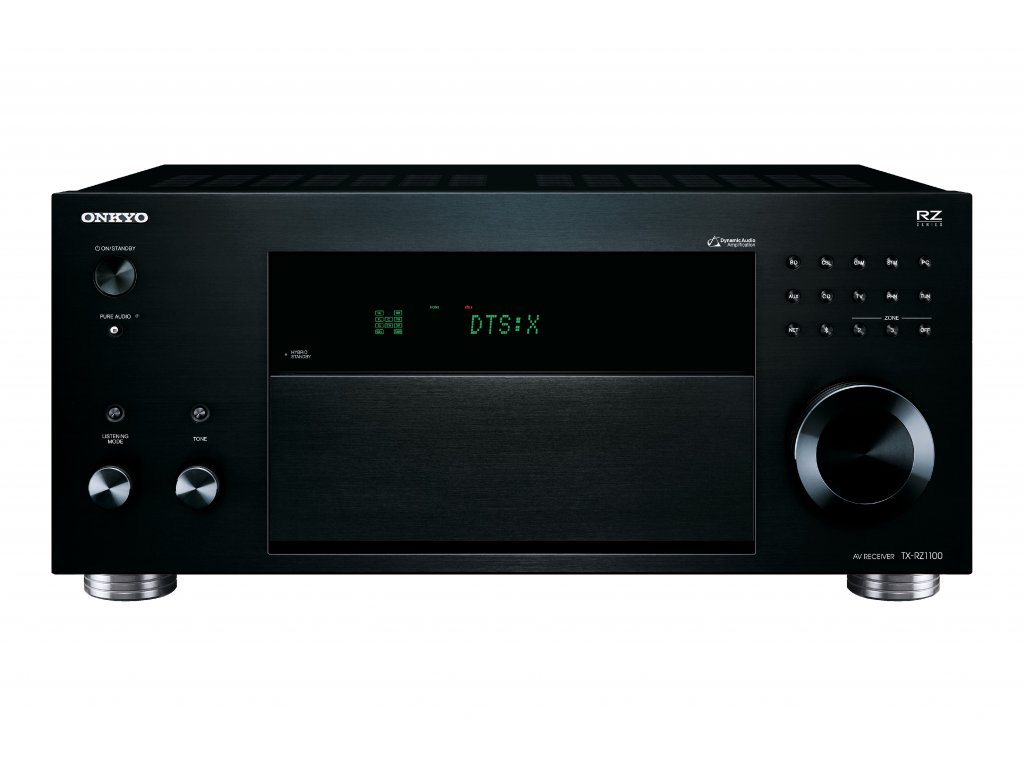 Kvalitní síťový AV receiver 9.2 s výkonem 200W na kanál Onkyo TX-RZ1100
