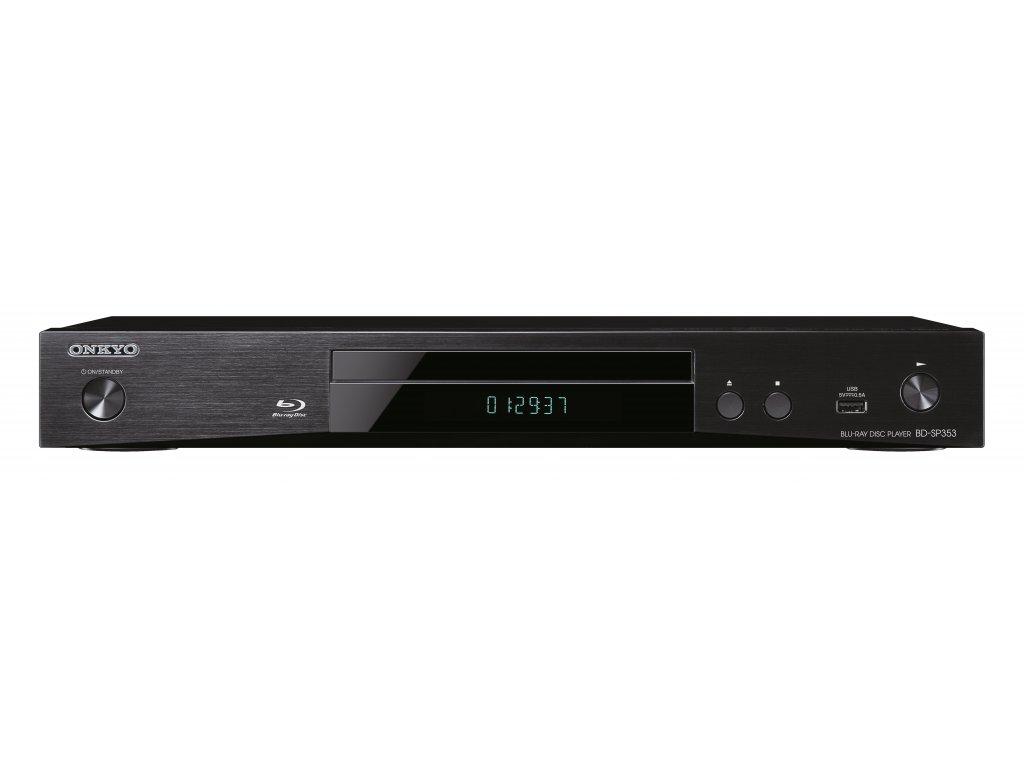 Kvalitní BD/DVD/CD přehrávač se síťovými funkcemi Onkyo BD-SP353