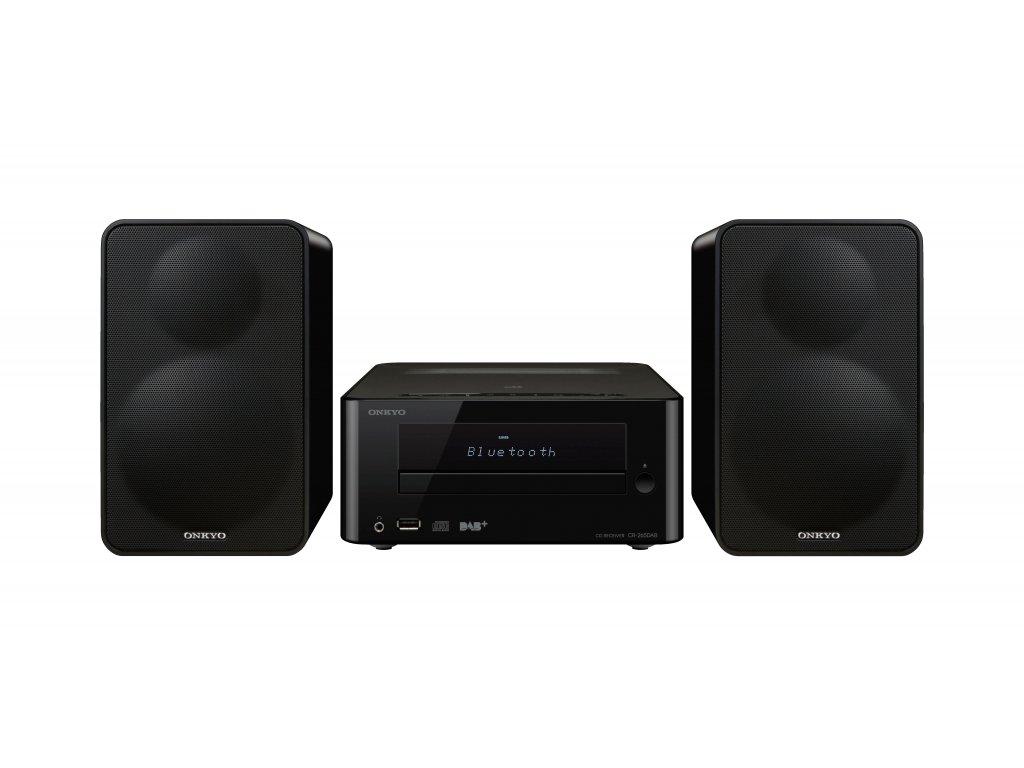 Kvalitní mikro systém Hi-Fi s vestaveným klasickým FM ale i DAB+ tunerem (pro digitálně vysílané radiové stanice) Onkyo CS-265DAB