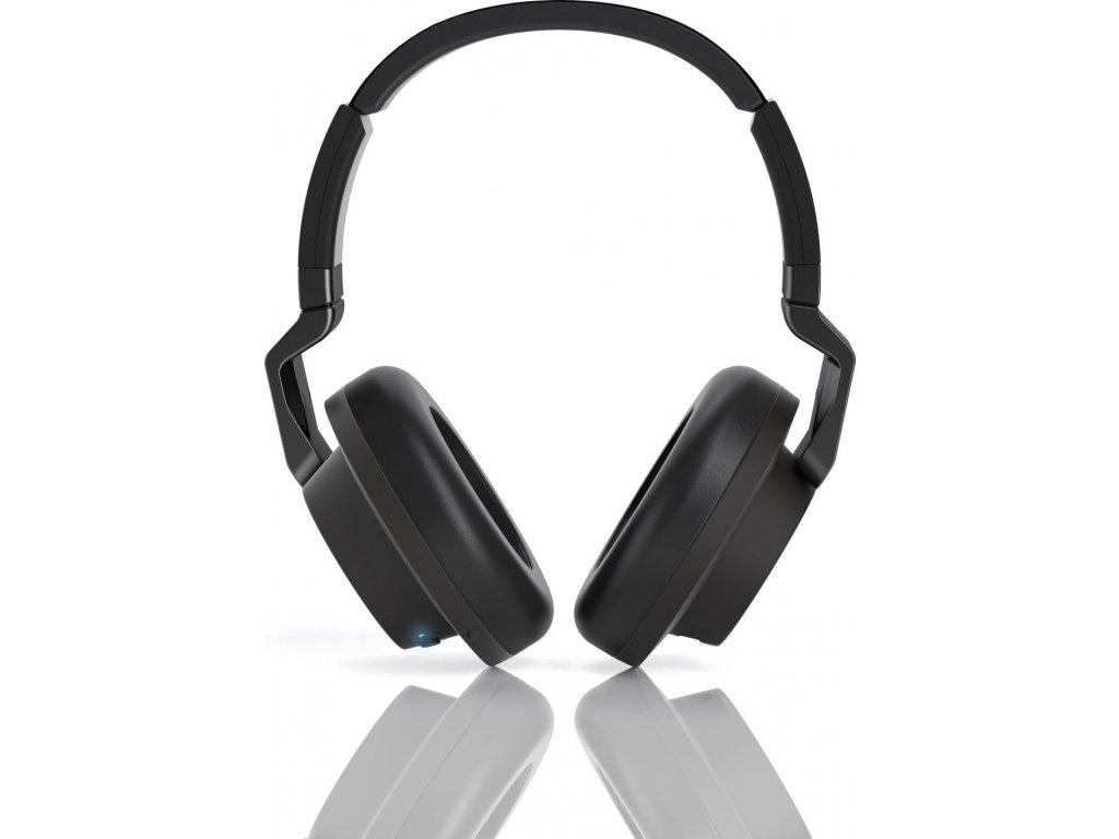 Stylová dynamická uzavřená bluetooth sluchátka AKG K845BT v černé barvě