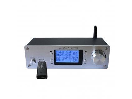 TZT RH 699X 4K Audio Decoder Bluetooth 5 0 Fiber Coaxial 5 1 Channel for HDMI