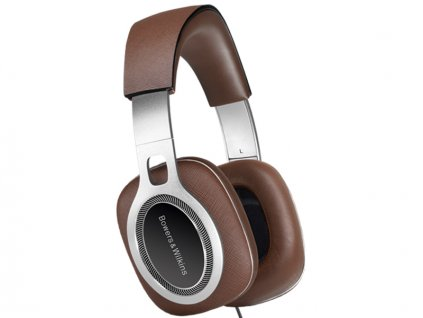 Kvalitní velká uzavřená Hi-Fi sluchátka s pasivním odhlučněním Bowers & Wilkins P9 Signature