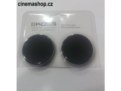 Kvalitní 1 pár originálních náhradních pěnových náušníků pro sluchátka Koss, zejména pro Porta Pro, Sporta Pro, KTX/ Pro I  Koss PortCush